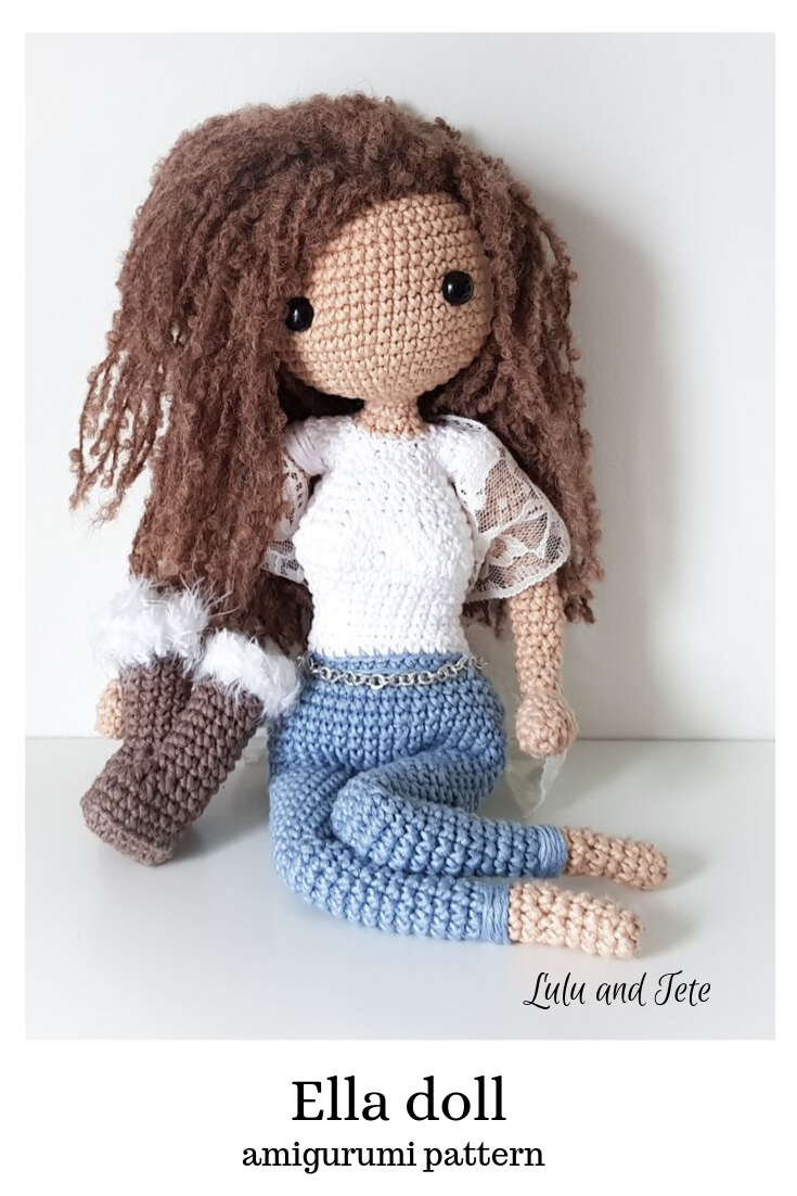 Amigurumi Best Doll Free Crochet Patterns (With images) | Wzory ... | 1102x735